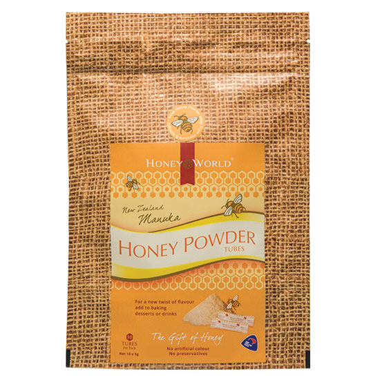 Manuka Honey Powder Tubes
