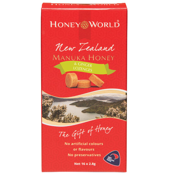 Manuka Honey with Ginger