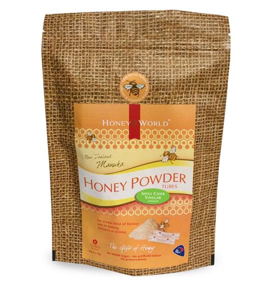Manuka and Apple Cider Vinegar Honey Powder Tubes