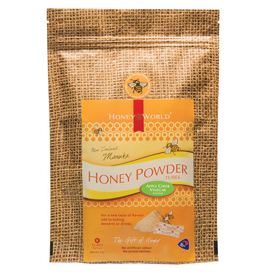 Manuka and Apple Cider Vinegar Honey Powder Tubes